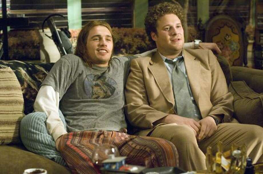Pineapple Express, single-disc DVD, $28.96; two-disc DVD set, $34.95; Blu-ray, $39.95. (Sony) Photo: Darren Michaels, AP