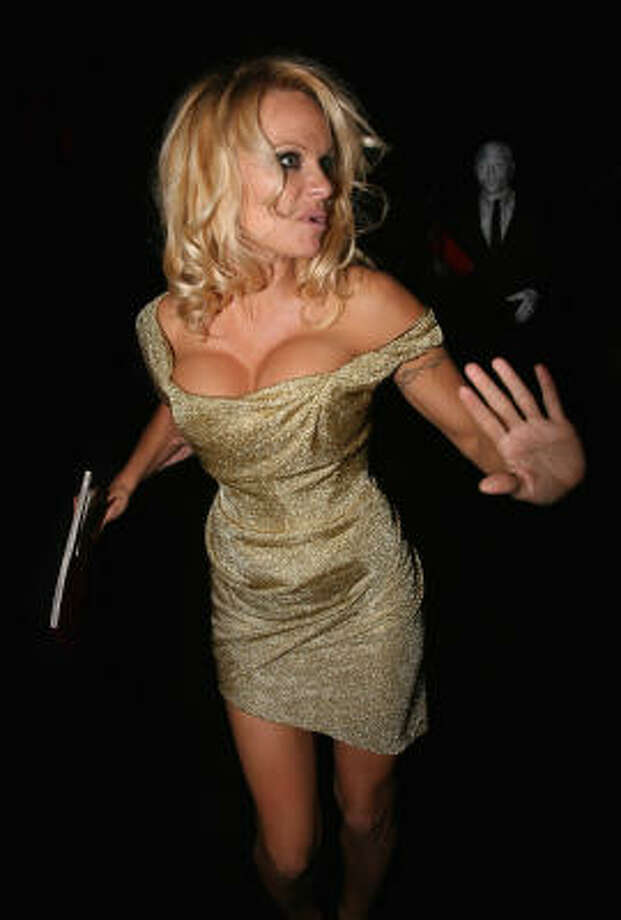 Pamela Anderson Photo: Dan Kitwood, Getty Images