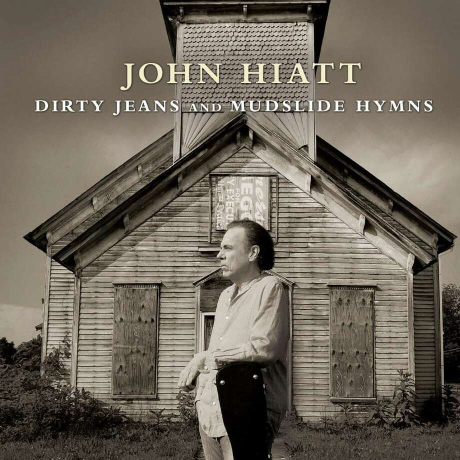 """In this CD cover image released by New West Records, the latest release by John Hiatt, """"Dirty Jeans and Mudslide Hymns"""" is shown. (AP Photo/New West Records)"""