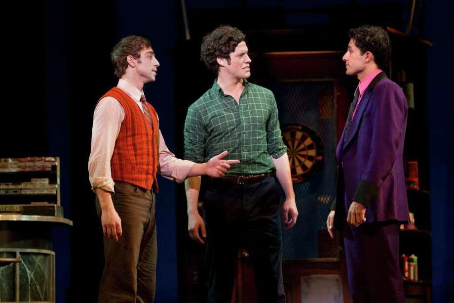"Joseph J. Simeone, Kyle Harris and German Santiago in the touring production of ""West Side Story"" (Joan Marcus) / ©2010, Joan Marcus"