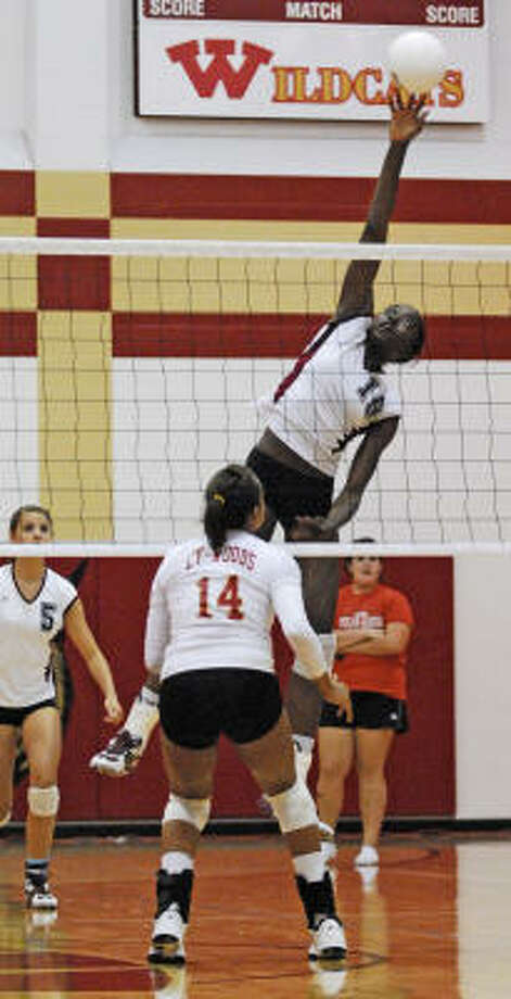 Chiney Ogwumike, Jr., Cy Fair First TeamThe only starter back from last season's state semifinalist squad improved at the net this year and was considered by several area coaches to be the best blocker in the area. Photo: Tony Bullard, For The Chronicle