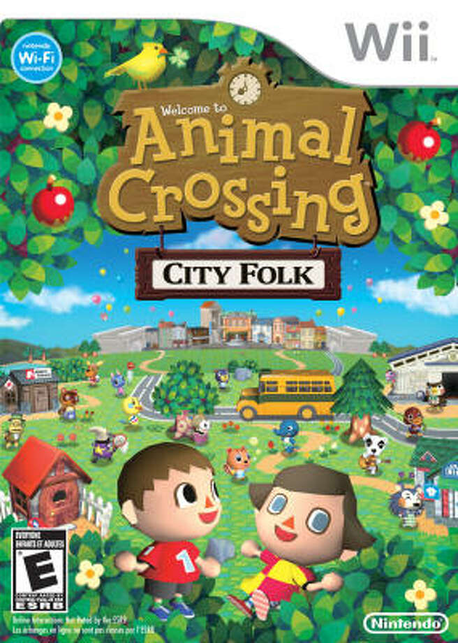 Animal Crossing: City Folk | Nintendo; Everybody; Wii, $50; $70 (with Wii Speak mic) |In the third entry in Nintendo's Animal Crossing series, you are once again the new kid in town — a town populated entirely by animals.
