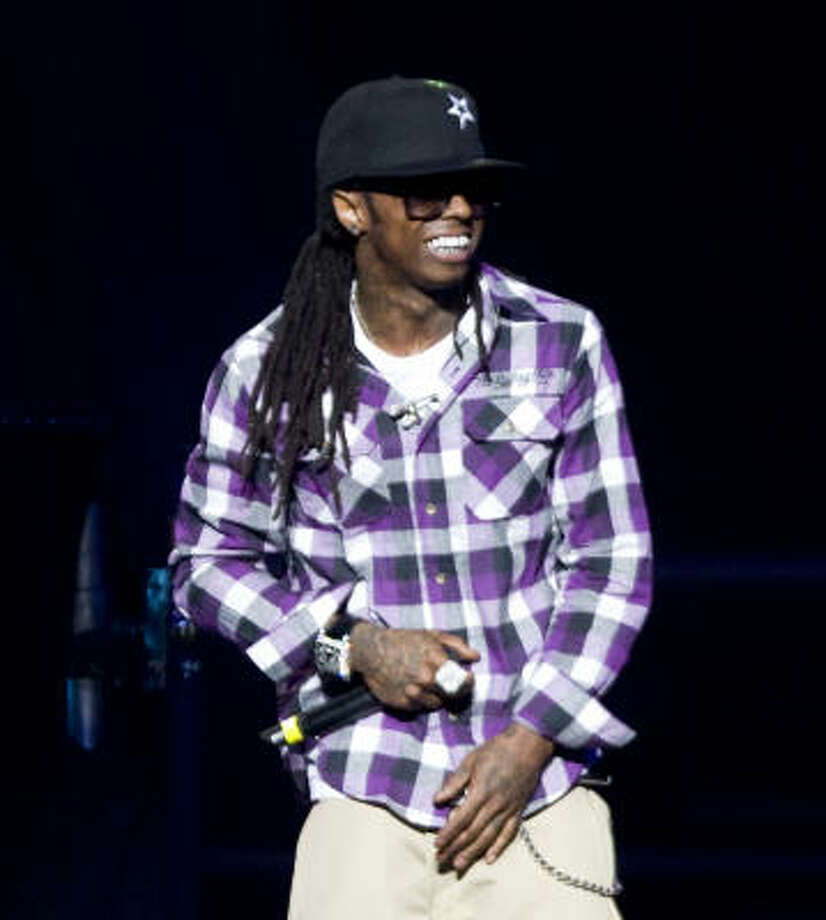 Lil Wayne. Photo: Bob Levey, For The Chronicle