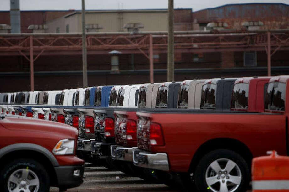 Chrysler cerrará todas sus plantas en América del Norte al menos por un mes, la medida más radical adoptada por una de las tres grandes firmas automotrices de Detroit mientras esperan noticias de un posible plan de rescate gubernamental. Photo: Spencer Platt, Getty Images