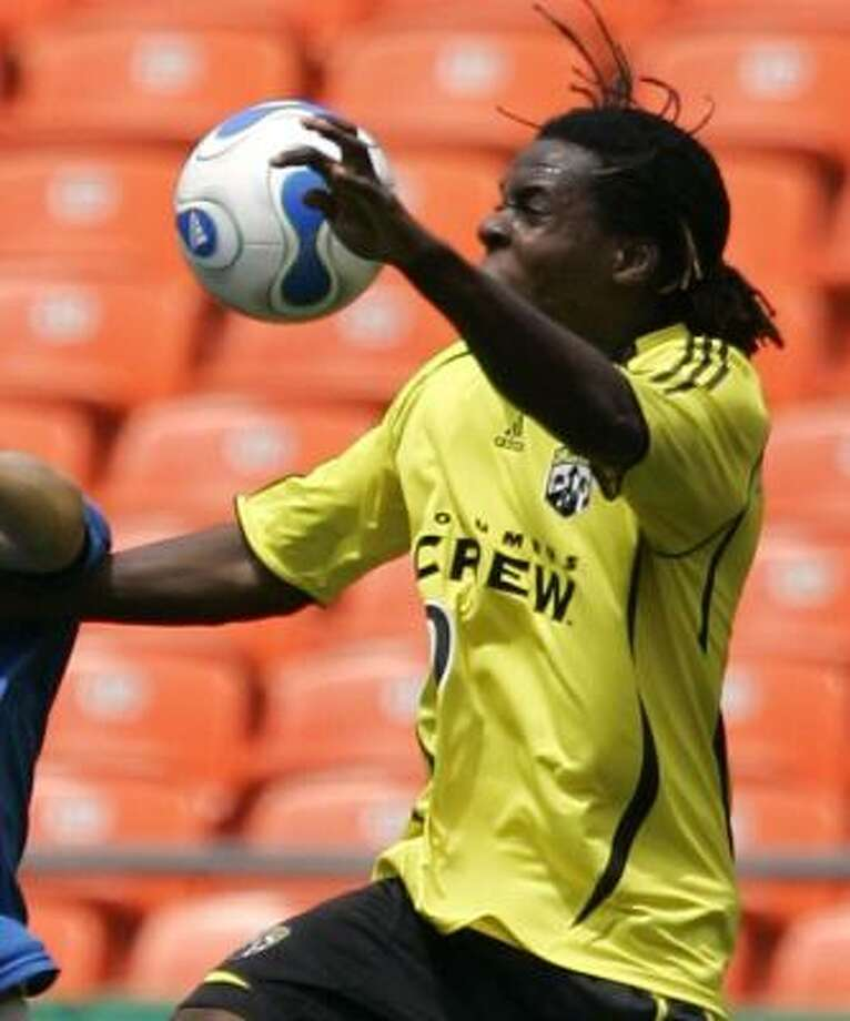 The Dynamo see plenty of speed and potential in newly acquired forward Joseph Ngwenya, who will join the team on Saturday. Photo: Dick Whipple, AP