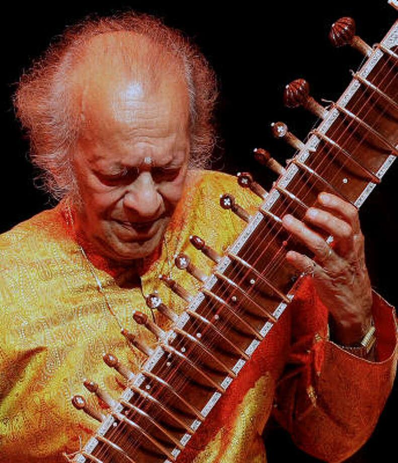 India-born Ravi Shankar was one of the best known instrumentalists in the world, a virtuoso on the sitar. He was 92 when he died Dec. 11 in San Diego. Photo: SHAUN CURRY, AFP/Getty Images