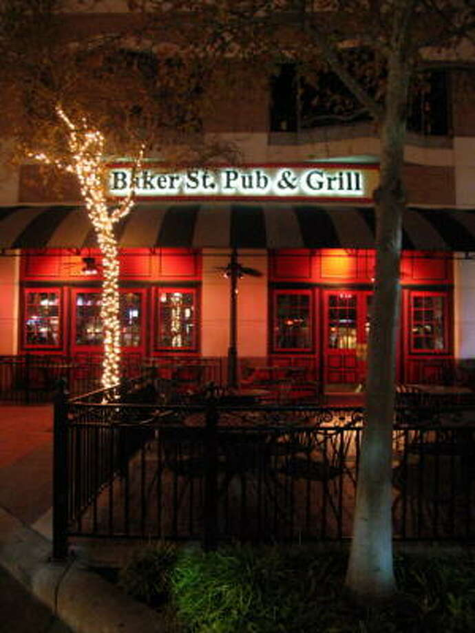 Baker St. Pub & Grill beckons at 15970 City Walk, Sugar Land. Photo: Jordan Graber, For The Chronicle