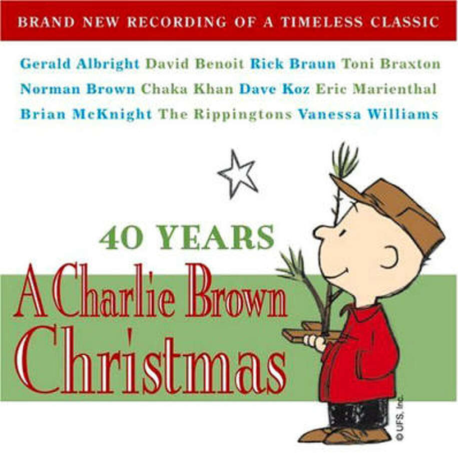 CD COVER -- cover of the album   40 Years A Charlie Brown Christmas  courtesy photo