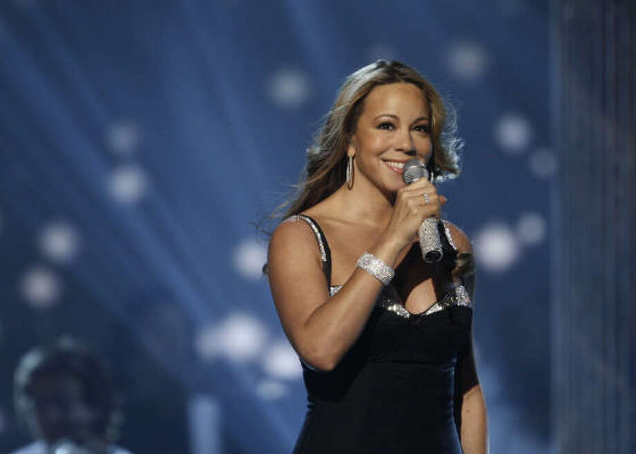 20.Mariah Carey, who had another #1 hit with Touch My Body. Photo: Matt Sayles, AP