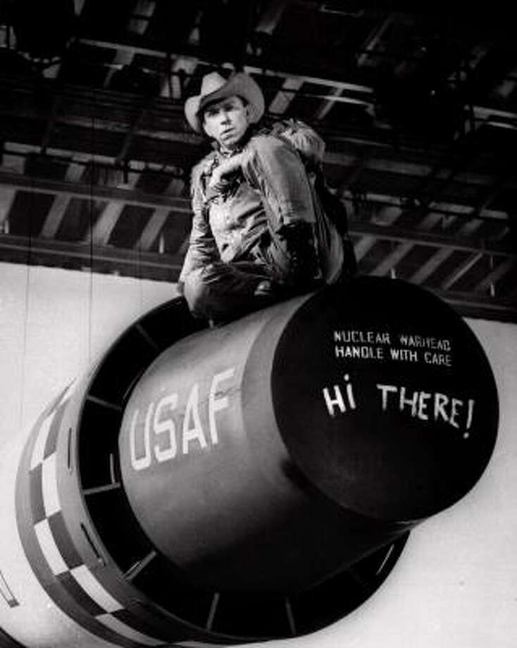 40)Dr. Strangelove or: How I Learned to Stop Worrying and Love the BombReleased: 1964IMDb Rating: 8.5 Photo: AP File