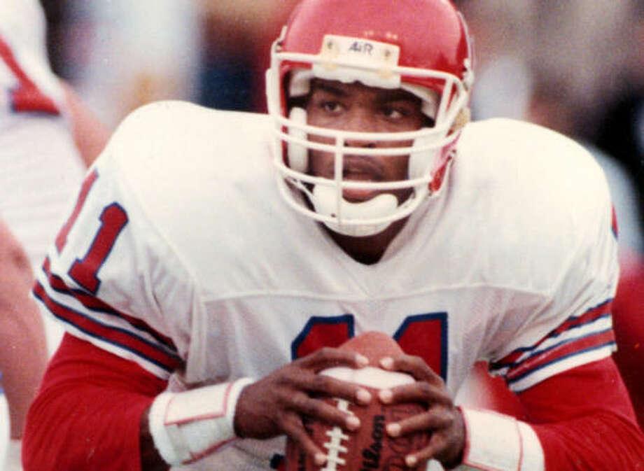 1989: Andre Ware  School: Houston  Position: Quarterback  Class: Junior  Photo: Chronicle File