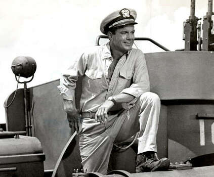 Cliff Robertson portrayed Lt. John F. Kennedy (No. 35) in the 1963 film PT-109. Photo: Chronicle File