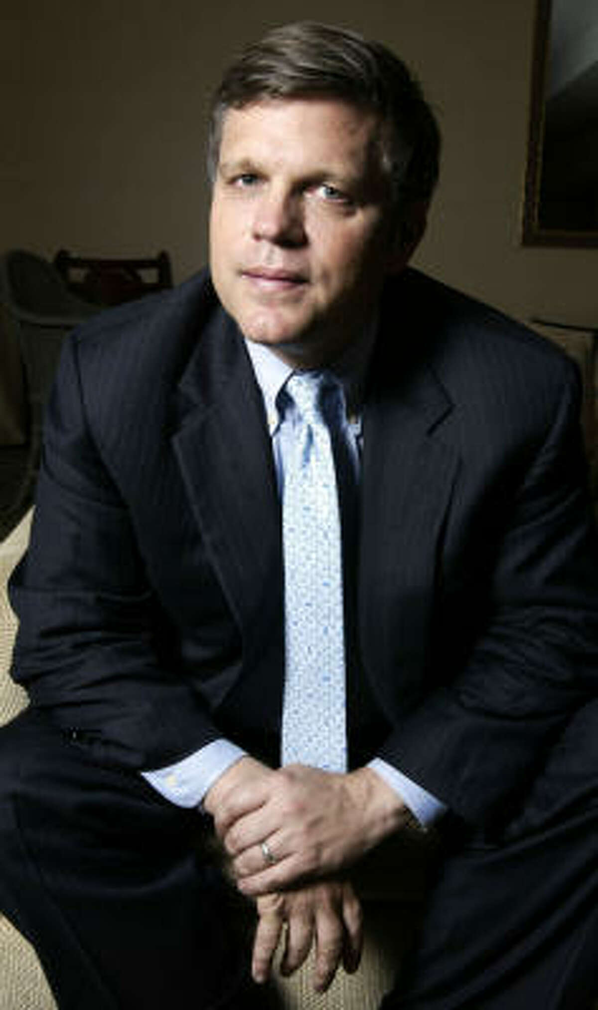 Historian Douglas Brinkley and his family fled to Houston from New Orleans after Hurricane Katrina.