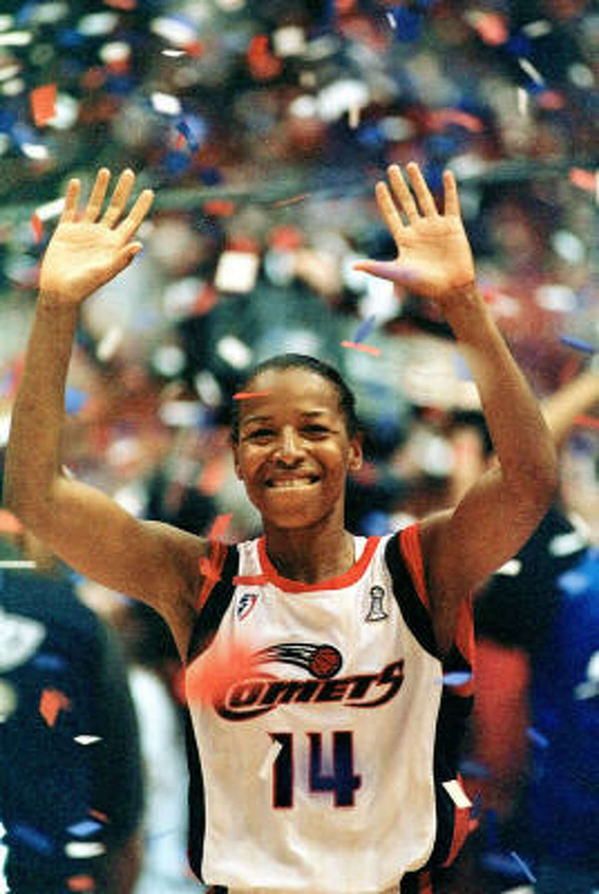 CYNTHIA COOPER, COMETS 1998 WNBA MVP Cooper led the Comets to their second straight championship and averaged 22.7 points and 4.4 assists per game.