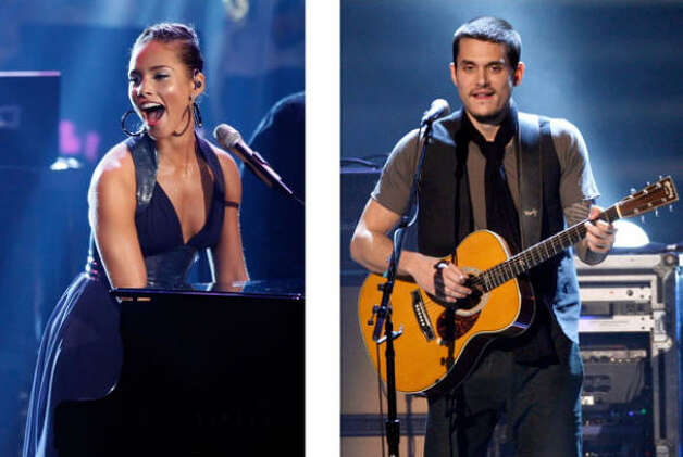 Alicia Keys with John Mayer: Best pop collaboration-vocals for Lessons Learned.