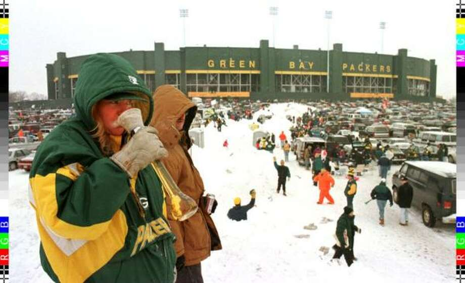 The conditions might not be quite like this when the Texans visit Lambeau Field in Green Bay Sunday, but it will be cold. Not that they've never played in the cold before. Here are the games the Texans have played with a game-time temperature 50 degrees or lower, going from warmest to coldest. Photo: AFP