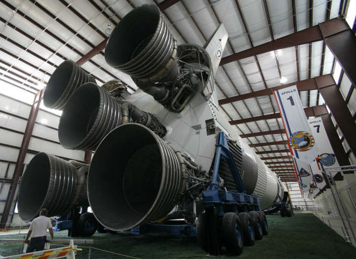The Saturn V rocket, Johnson Space Center, 2101 NASA Parkway