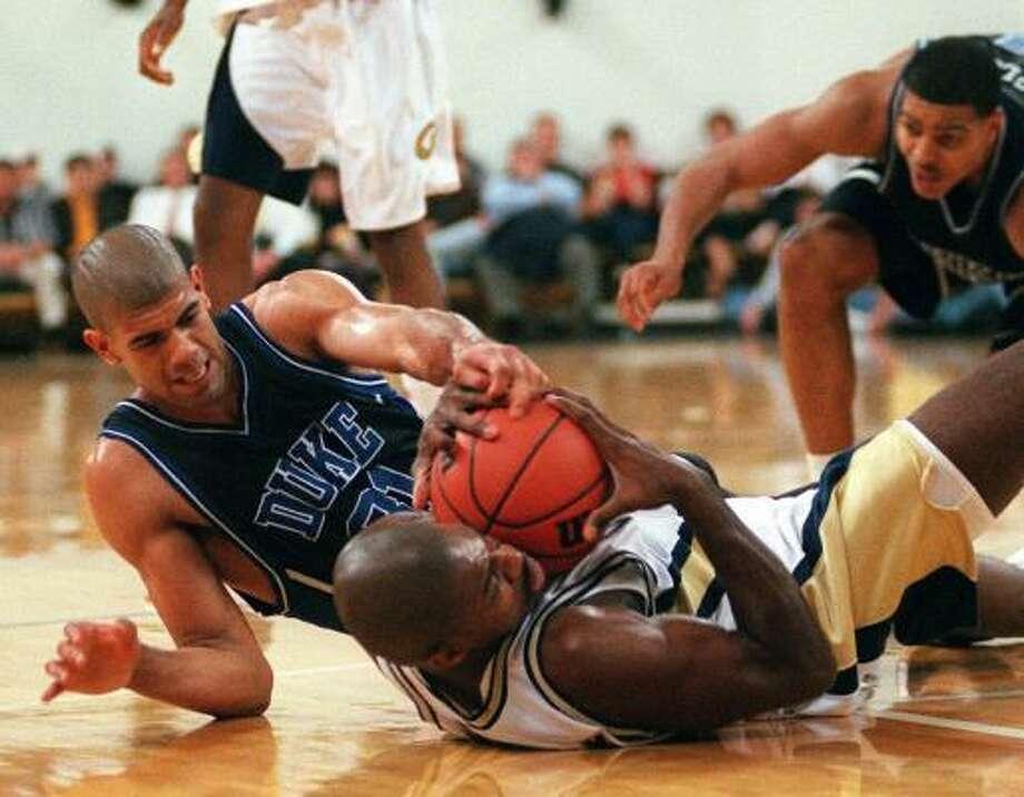 1997-98: DukeThe Duke Blue Devils went to the NCAA Elite Eight during Shane Battier's freshman season.Avg Pts: 7.6 Reb: 6.4 Ast: 1.1 Photo: ALAN MOTHNER, AP