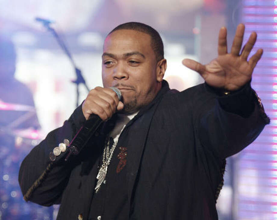 Timbaland is one of today's most sought after producers. Photo: Jeff Christensen, Associated Press