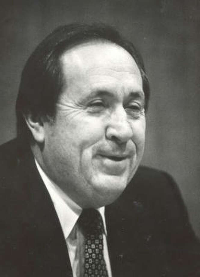 May 1981: Oscar S. Wyatt Jr., Coastal Corp. chairman. Photo: BUSTER DEAN, Houston Chronicle