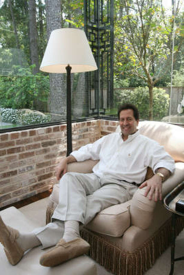 Visual Comfort founder Andy Singer at his Memorial-area home. Photo: Bill Olive, For The Chronicle