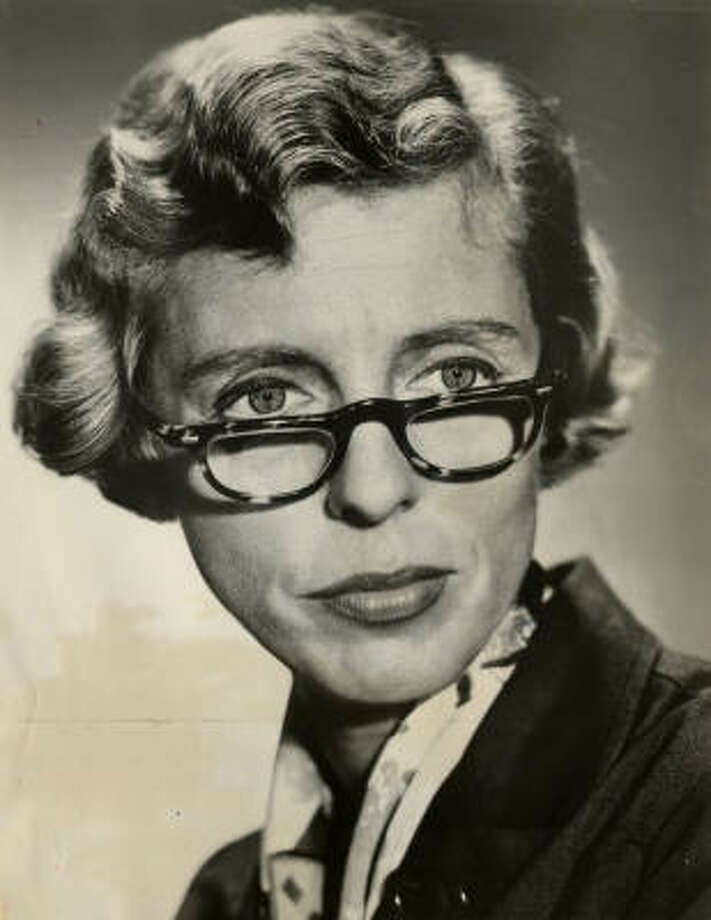'The Beverly Hillbillies'' Miss Jane Hathaway (Nancy Kulp) made an unsuccessful run for the U.S. House of Representatives for the state of Pennsylvania.  Photo: HOUSTON CHRONICLE LIBRARY