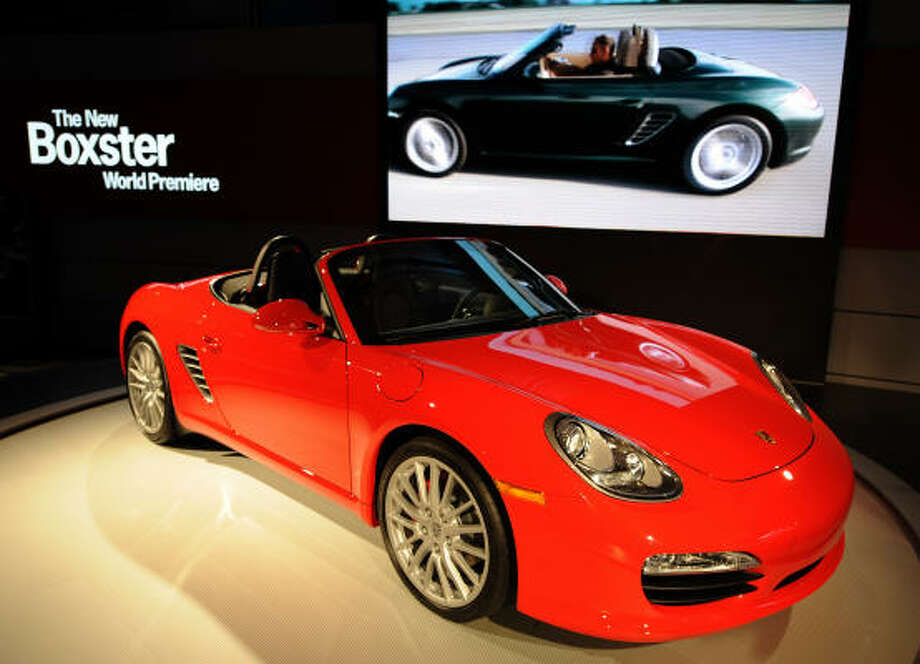 Model: 2013 Porsche BoxterStarting price: $49,500 Source: Business Review USA Photo: GABRIEL BOUYS, AFP/Getty Images
