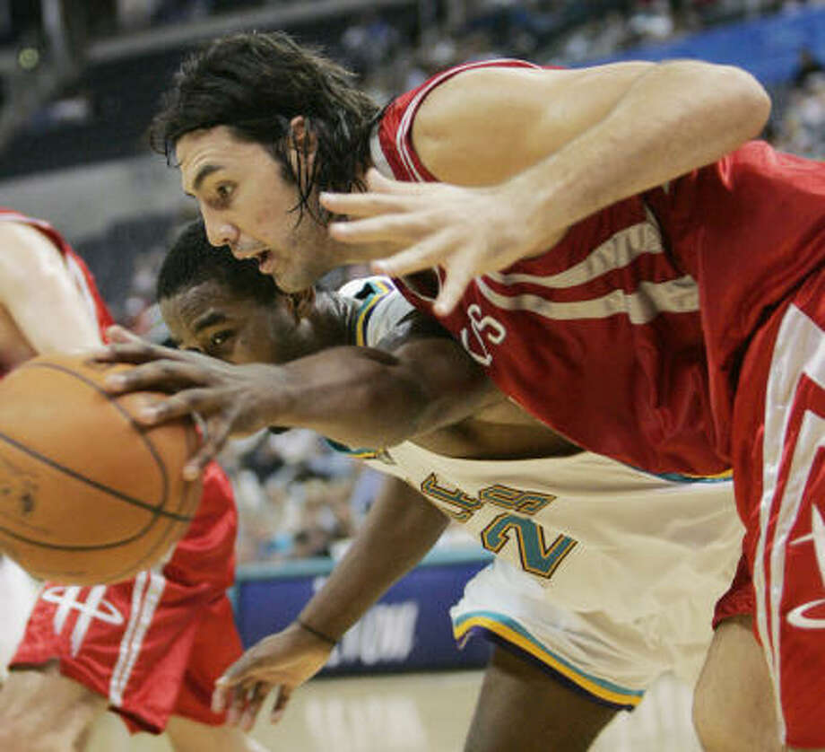 It remains to be determined whether Luis Scola will start or come off the bench. Photo: Sue Ogrocki, AP