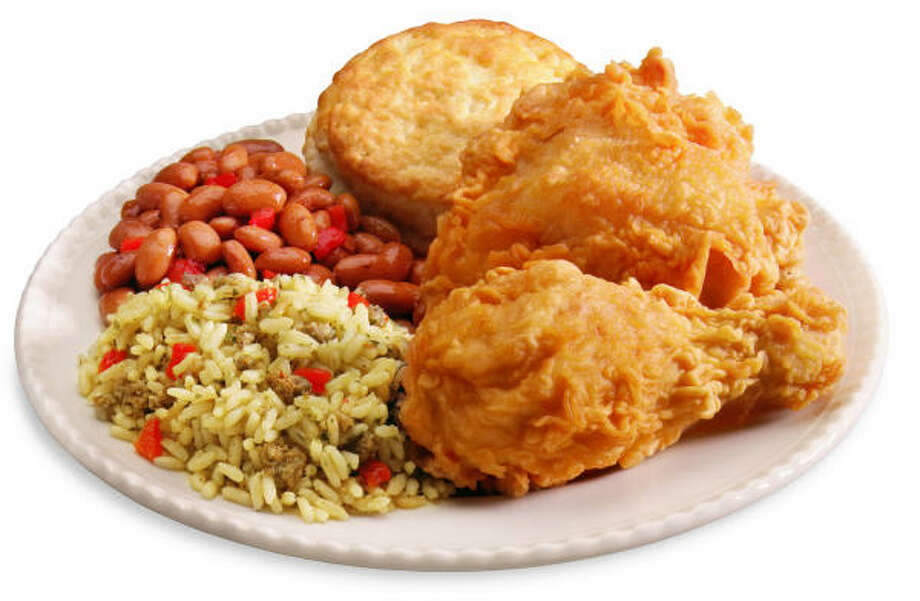 This two-piece meal includes rice and beans. Photo: BOJANGLES RESTAURANTS INC.