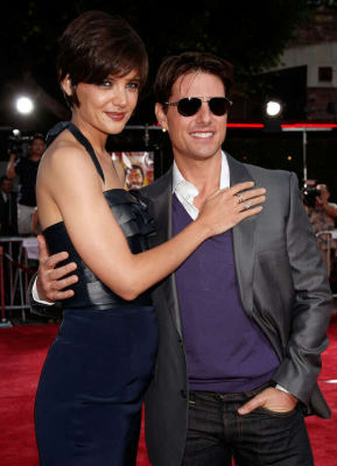 Power couple:Katie Holmes and Tom Cruise Photo: Kevin Winter, Getty Images