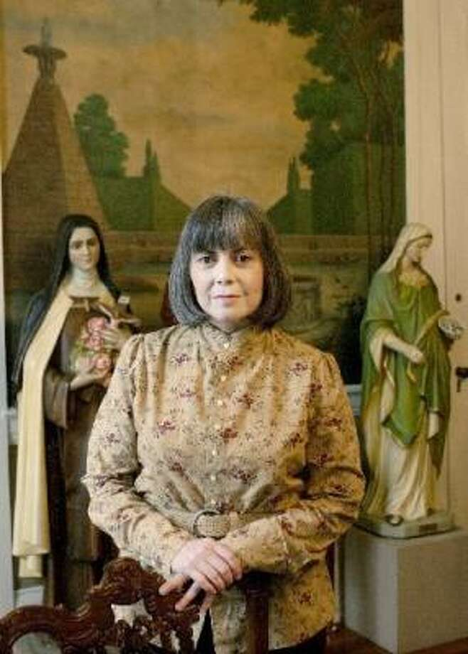 A IS FOR ANNE RICE ... Photo: Bill Haber, Associated Press