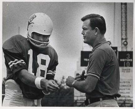 Darrell Royal (1957-76), Record: 167-47-5. Photo: Sam Pierson, Houston Chronicle