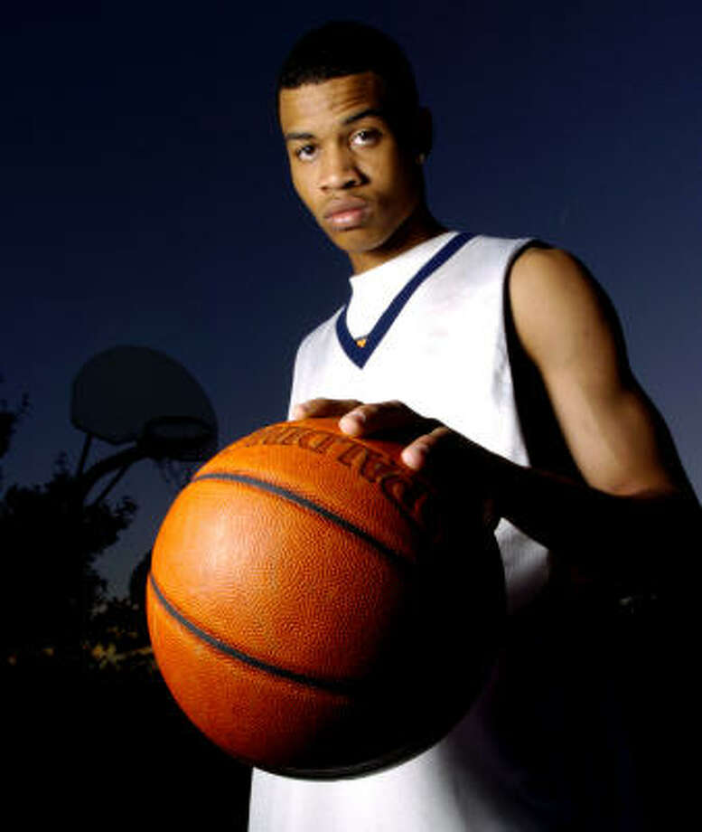 Gerald Green averaged 33 points, 12 rebounds and seven assists as a high school senior at Gulf Shores Academy. Photo: Dave Rossman, For The Chronicle