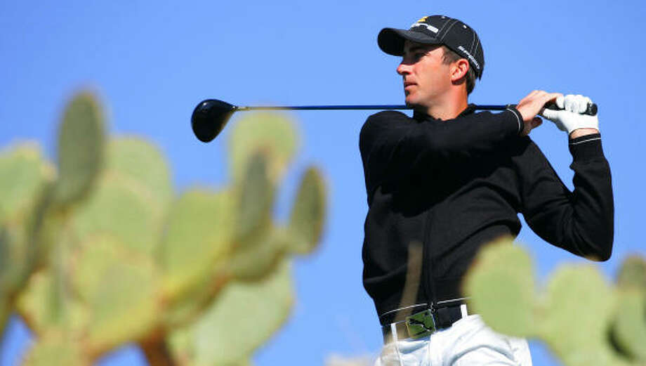 Geoff Ogilvy couldn't defend his Match Play title against a strong finish by Henrik Stenson. Photo: Andy Lyons, Getty Images