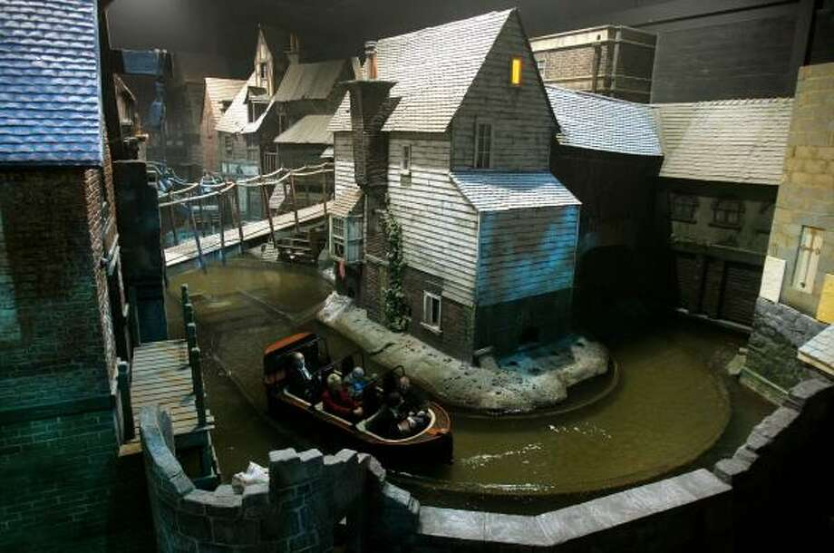 A new theme park revolves around the life of the great Victorian novelist and social commentator Charles Dickens. Photo: KIRSTY WIGGLESWORTH, AP