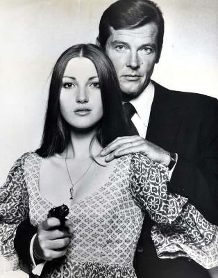 Best Bond women:4. Solitaire (Jane Seymour) in Live and Let Die (1973). Ethereal, fragile. Photo: United Artists