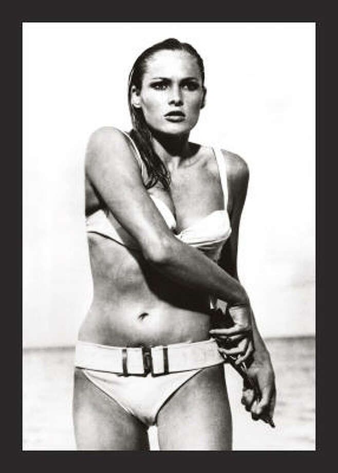 Best Bond women:2. Honey Rider (Ursula Andress) in Dr. No (1962). Not bright, but awesome rising from the sea. Photo: Chronicle File