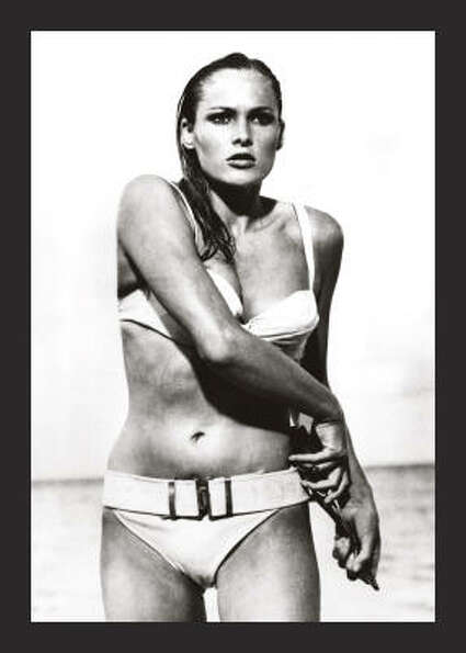 Best Bond women: 2. Honey Rider (Ursula Andress) in Dr. No (1962). Not bright, but a