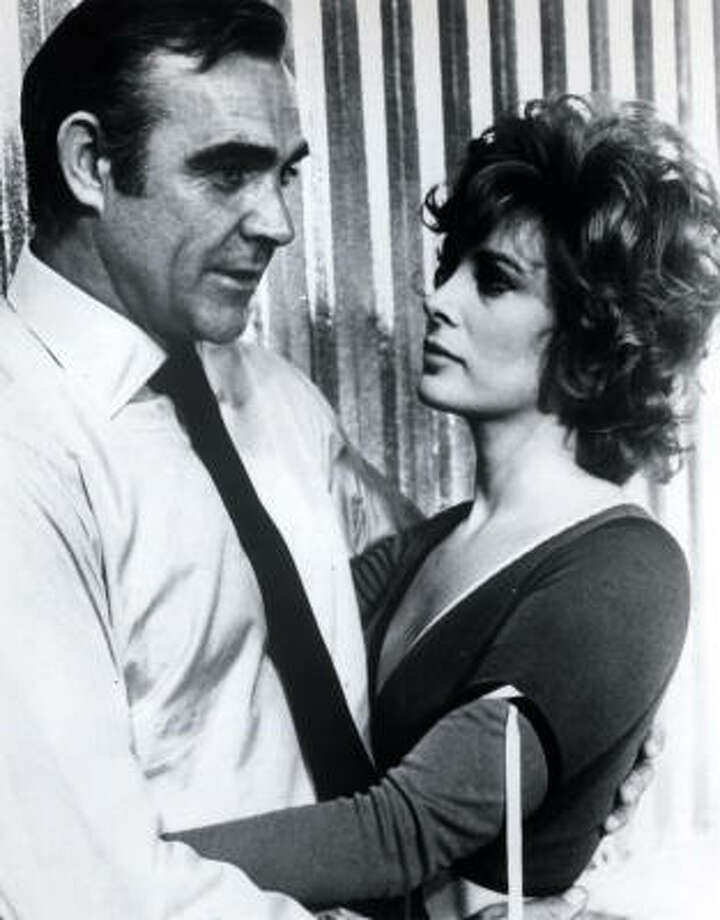 Worst Bond women:4. Tiffany Case (Jill St. John) in Diamonds Are Forever (1971). When we say broad, we're referring to her acting style.