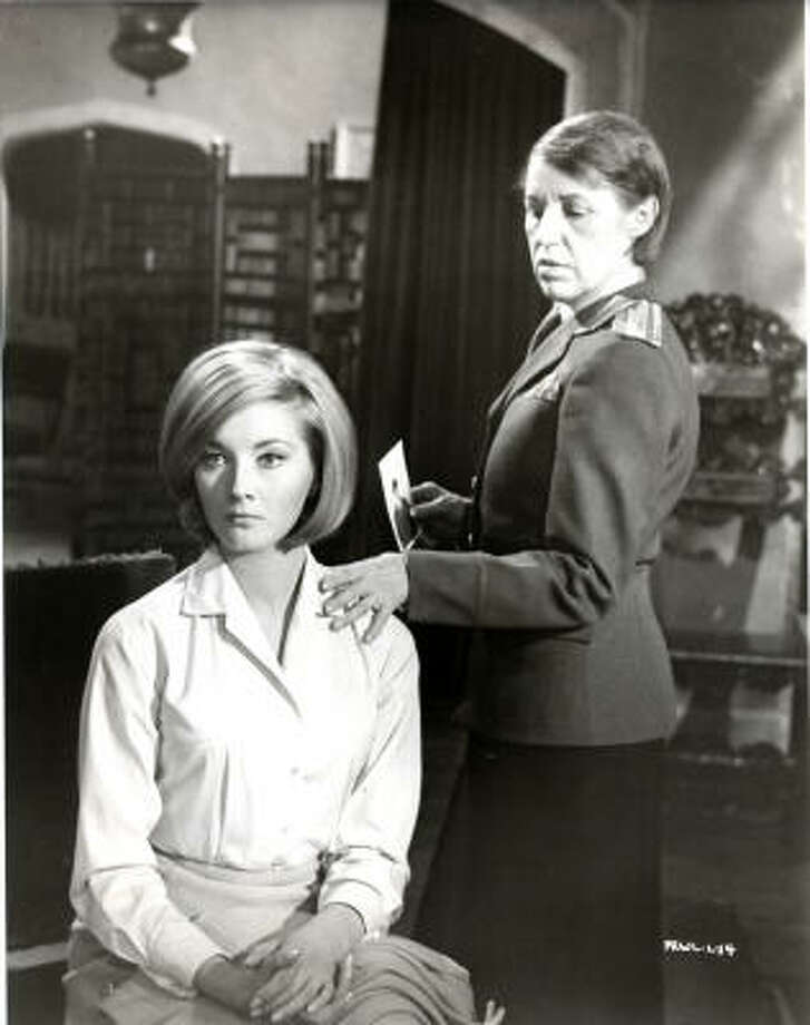 Best BAD Bond Women: 1. Rosa Klebb (Lotte Lenya), right, in From Russia With Love (1963). Beware her lethal kick. Photo: Chronicle File