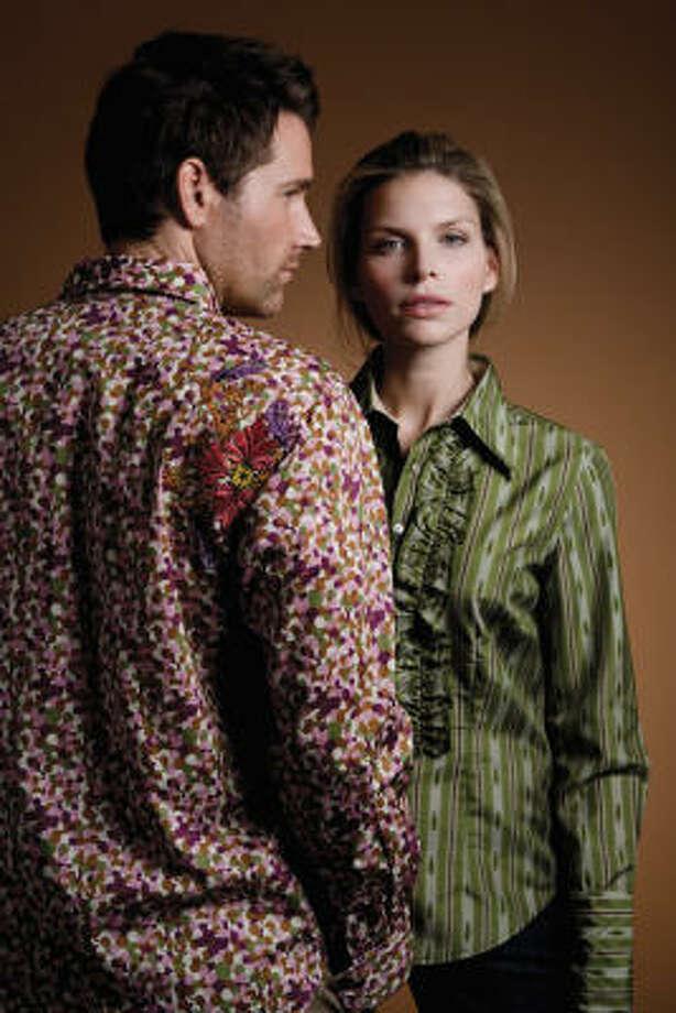 Robert Graham shirts at Norton Ditto. Photo: Robert Graham