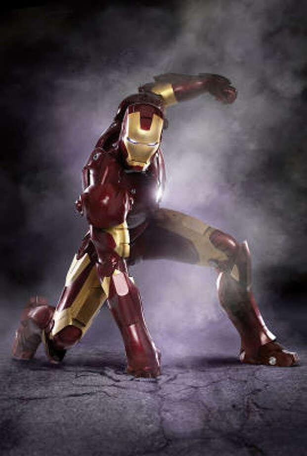 Favorite movie:Iron Man Photo: Jamie Bivers, Marvel Entertainment