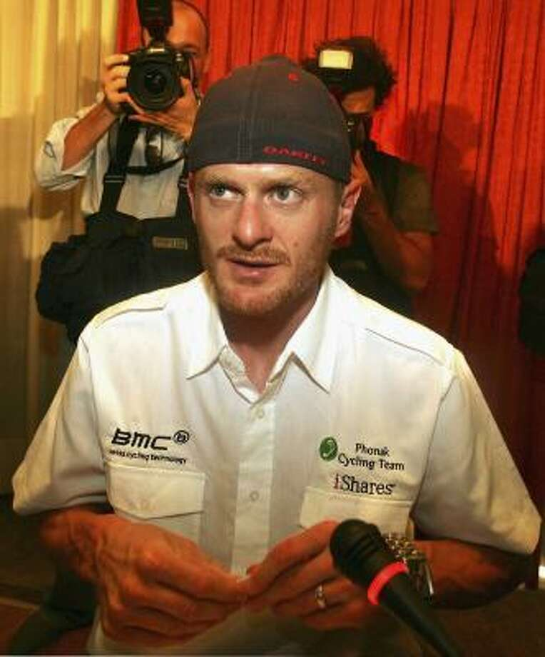 Floyd Landis claimed his positive test was due to drinking Jack Daniels and beers the day before his epic stage 17 victory in the Tour de France. He later confessed to doping. He was key in the Lance Armstrong case. Photo: Denis Doyle, Getty Images
