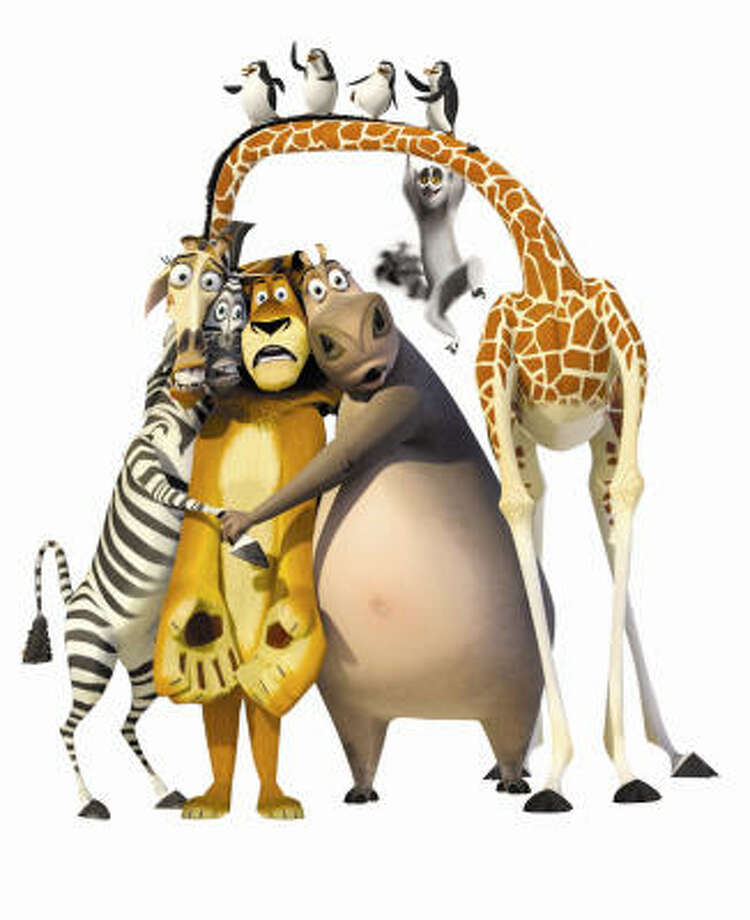 In Madagascar: Escape 2 Africa, the sequel to the popular Madagascar,  the New York Zoo Animals find themselves marooned in Africa. Photo: DreamWorks