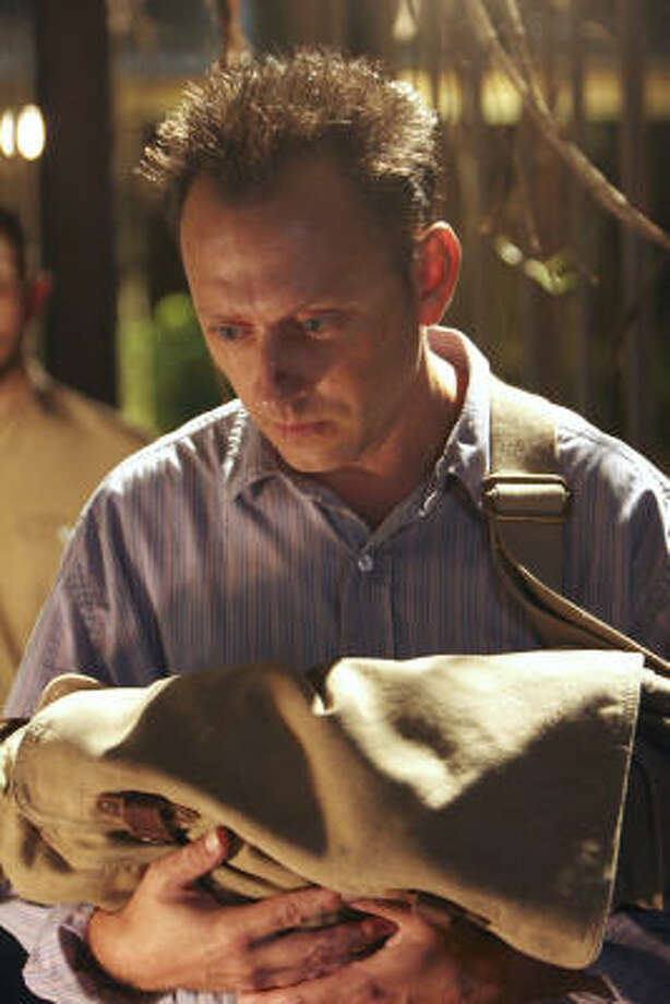 Michael Emerson stars as the leader of The Others, in Lost. Photo: MARIO PEREZ, ABC