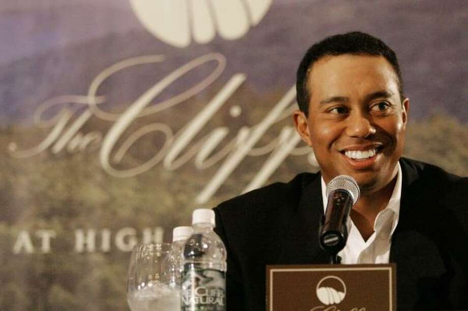 The absence of Tiger Woods at the Fed Ex Cup leaves a huge gap in the importance of the event. Photo: Mary Ann Chastain, AP
