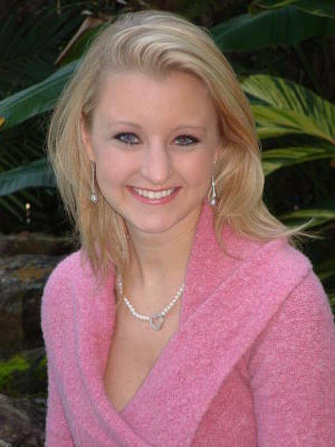 Rachel Garrett, Miss Houston 2008, possesses talent and maturity. Photo: SUBMITTED