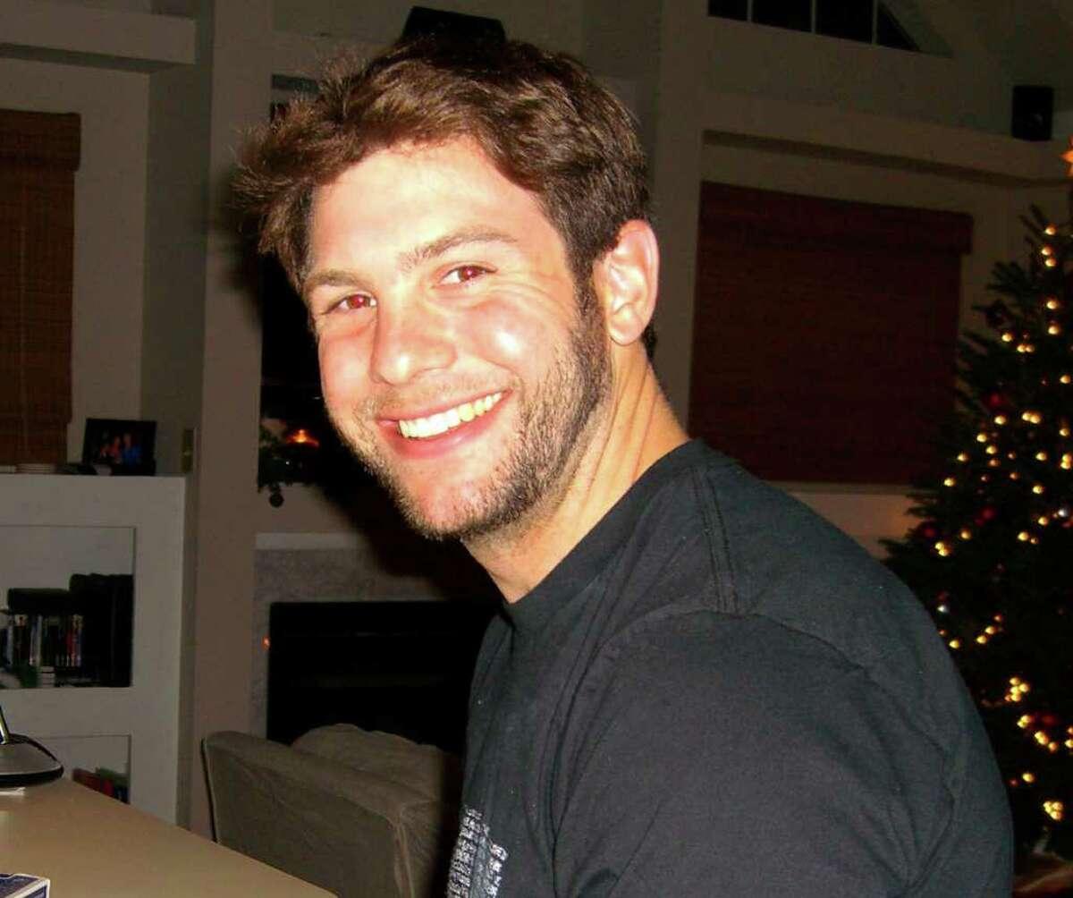 Navy SEAL Brian Bill at Christmas 2010 at his home in Virginia Beach, Va.