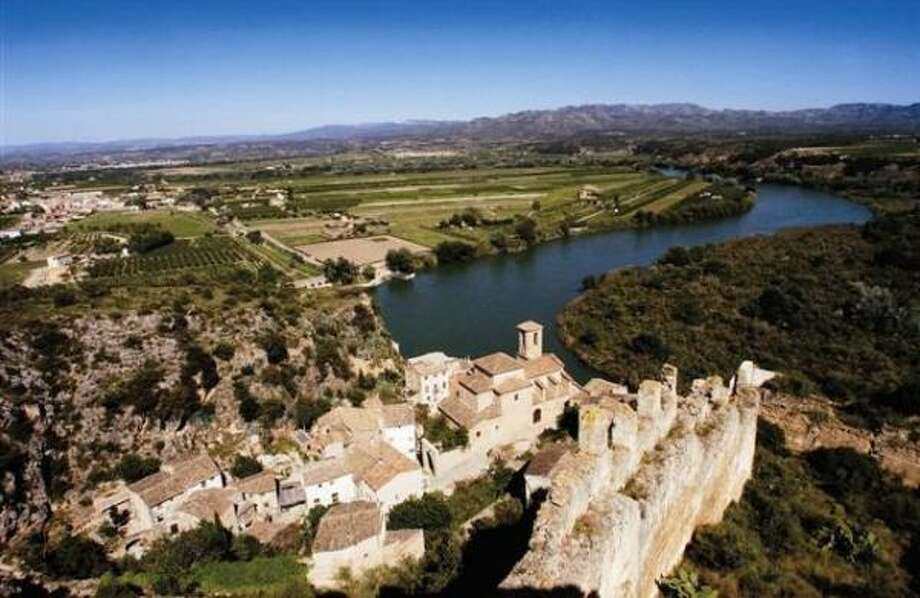 The Ebro River traverses the famous winegrowing region of Rioja in north-central Spain. A wine made there for the Martin Codax label is called ERGO, which stands for Ebro River Grape Origin. Photo: GALLO