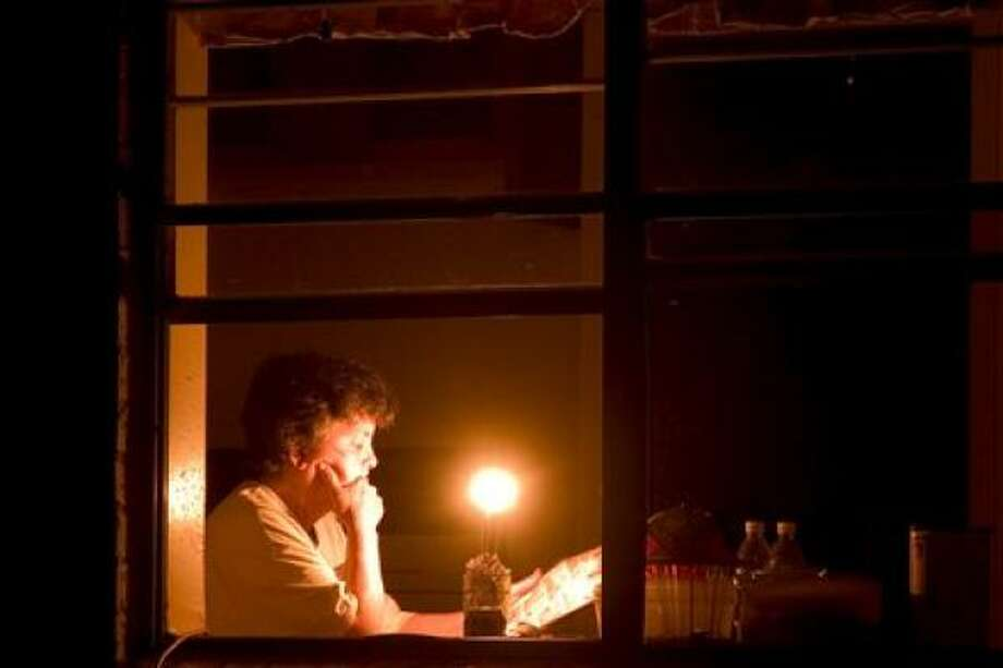 Days without power have forced many to go without the conveniences of the 21st Century. Photo: ThomasM, Chron.Commons Member